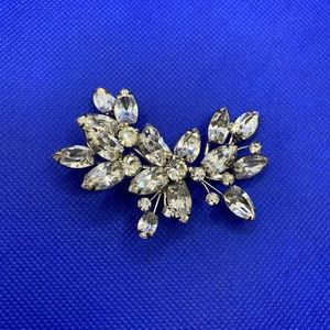 Gorgeous Antique Crystal Brooch